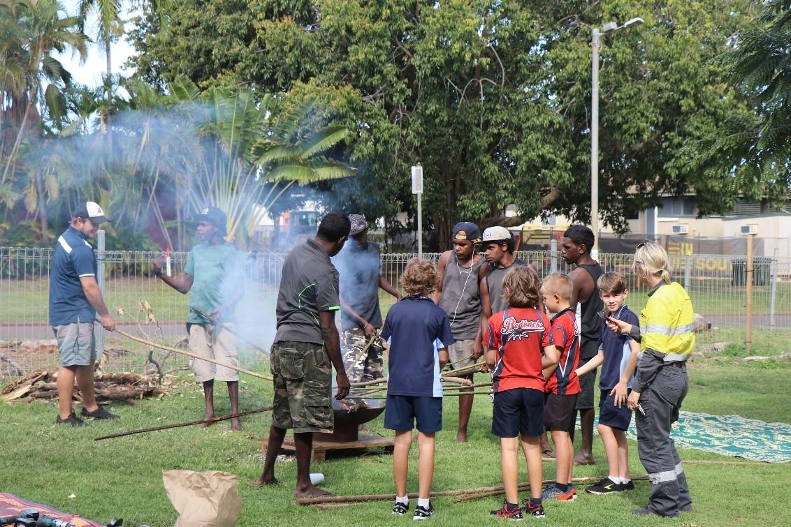GEBIE GANG Spear Making Workshop