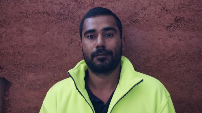 Community night patroller Arshaan Kahn
