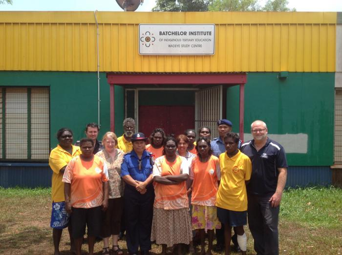 The Wadeye RSAS team with PNG visitors and BIITE staff