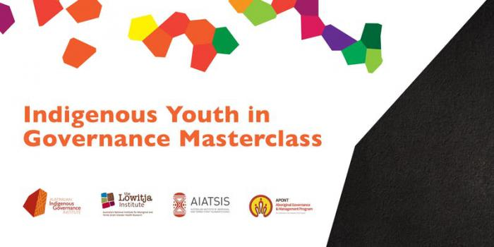 Indigenous Youth in Governance Masterclass