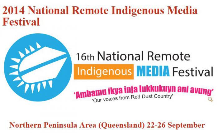 2014 Indigenous Remote Media Festival promotion picture