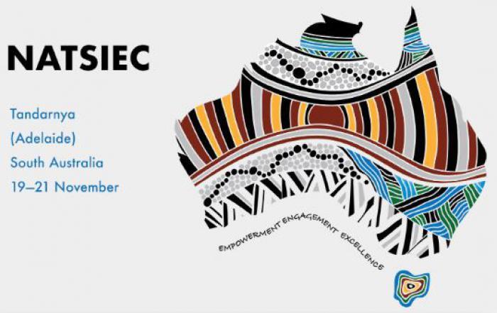 Map Of Australia Logo.National Aboriginal And Torres Strait Islander Education Conference