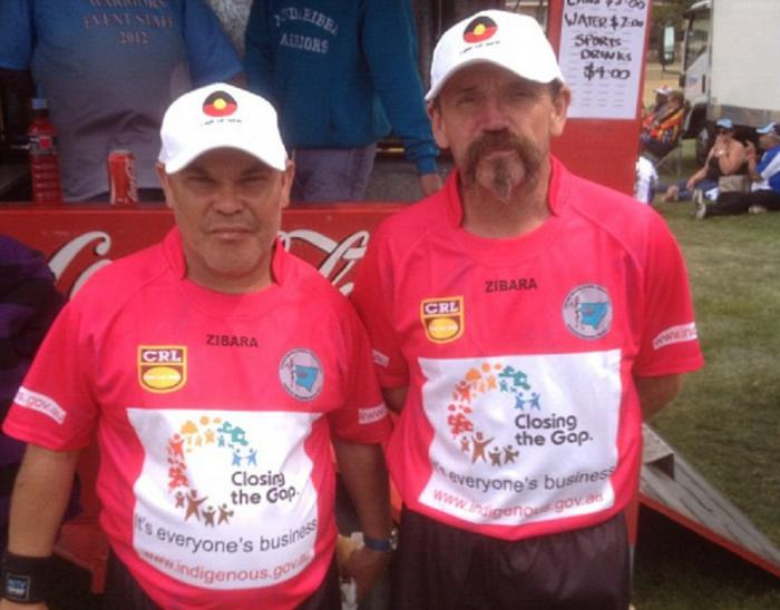 Referee's at the NSW 2012 Aboriginal Rugby League Knockout