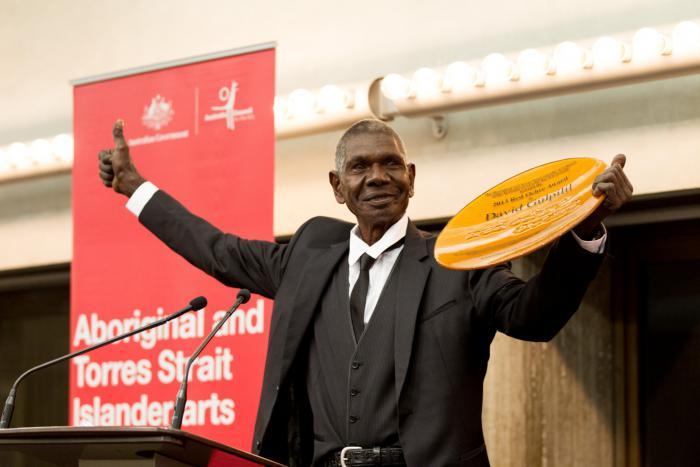 2013 Red Ochre Award winner David Gulpilil.