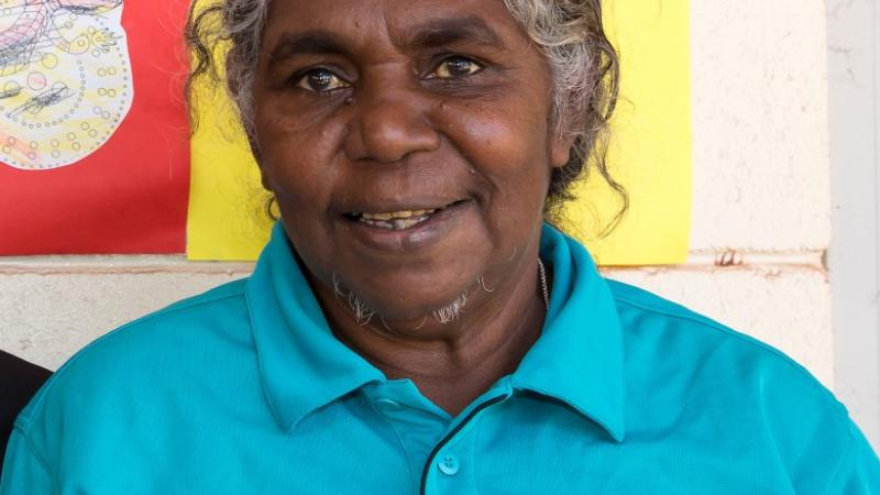VTEC participant Ellen Tcherna from the One Tree Wadeye Children and Family Centre