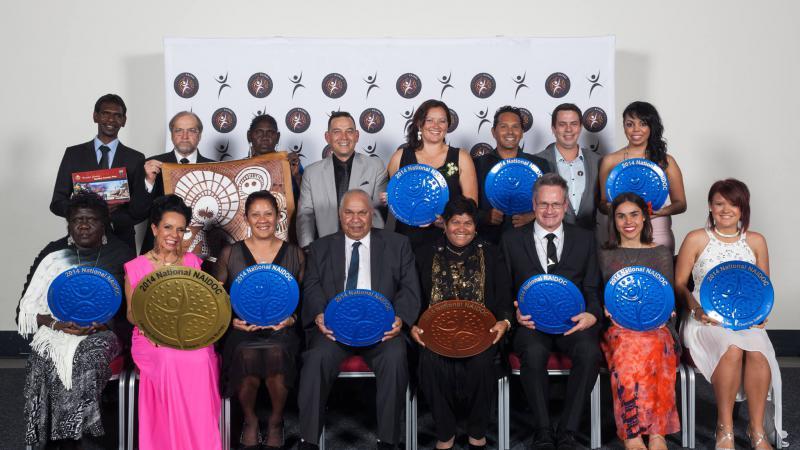 2014 National NAIDOC Award recipients.