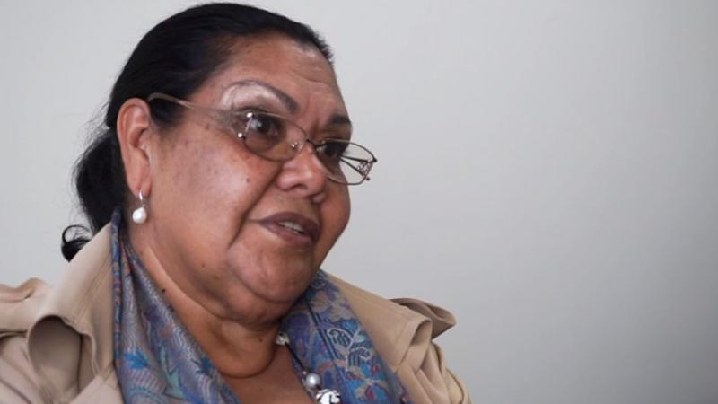 Aboriginal and Torres Strait Islander Social Justice Commissioner, Ms June Oscar AO.