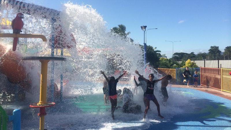 Kowanyama Year 5 students make a big 'splash' in school attendance and positive behaviour