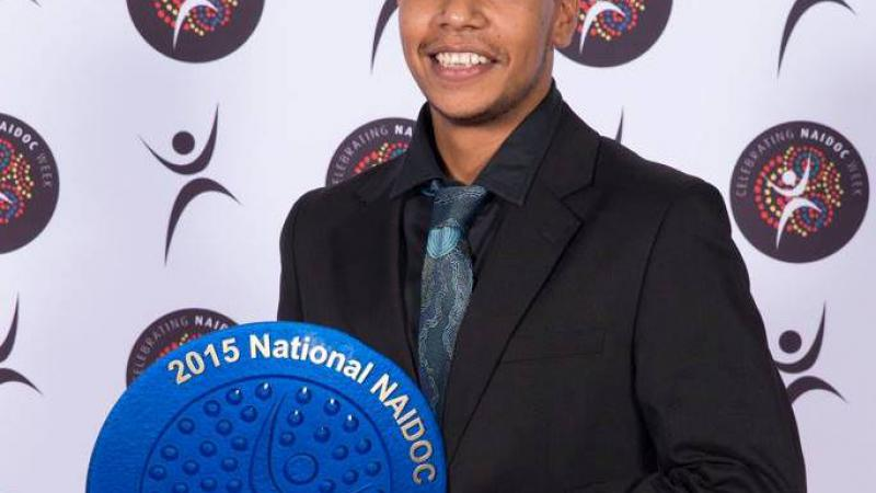 2015 National NAIDOC Apprentice of the Year Ashley Farrall