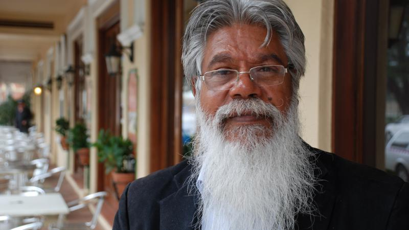 Associate Professor Ted Wilkes, chair of the National Indigenous Drug and Alcohol Committee, is increasing awareness of Foetal Alcohol Spectrum Disorder (FASD), Fremantle, WA.