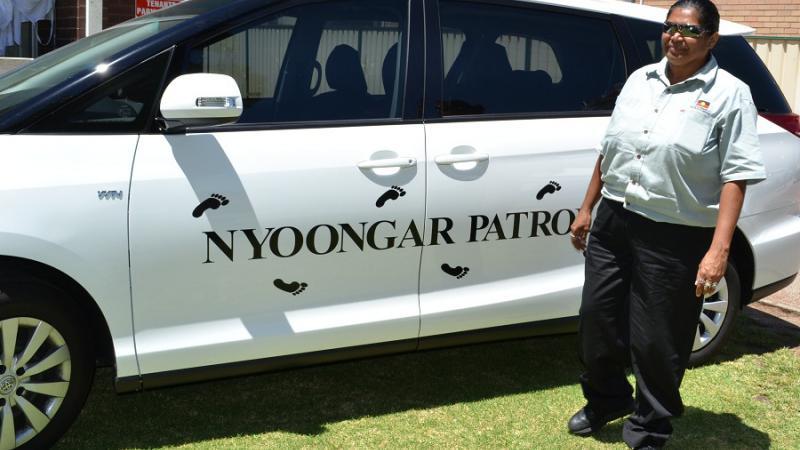 Nyoongar Patrol senior supervisor Tanya Roe, Perth, WA.