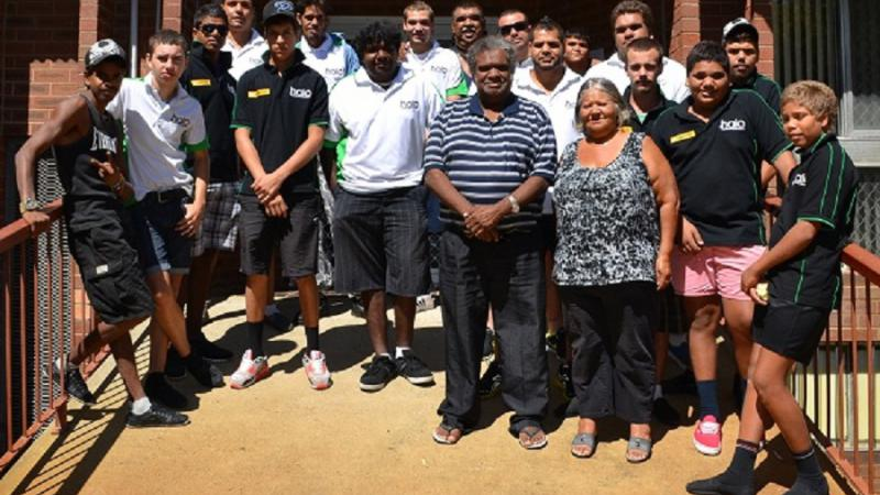 Participants and mentors of the Halo Leadership Development Agency, Spearwood, WA