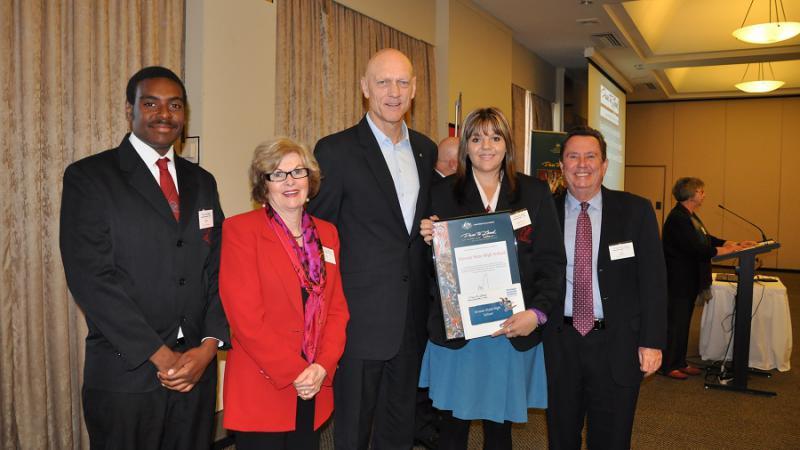 Dare to Lead Excellence in Leadership in Indigenous Education Awards winner Kirwan State High School, Townsville, QLD