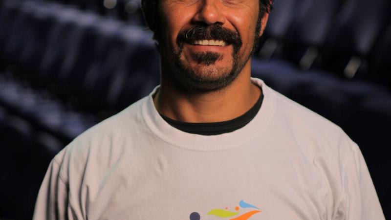 International Day of People With Disability Patron, Aaron Pedersen.