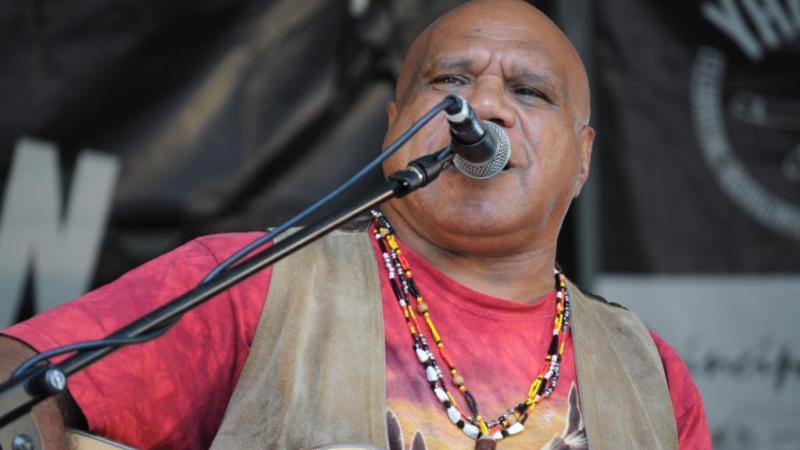 Aboriginal singer-songwriter Archie Roach