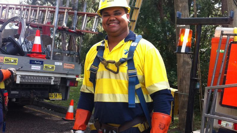 Joshua Toomey, winner of the Aboriginal and Torres Strait Islander Student of the Year Award at the 2011 Australian Training Awards.