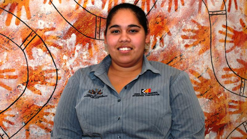Murdi Paaki Aboriginal Young Leaders Project participant Isabel Orcher, Dubbo, NSW.