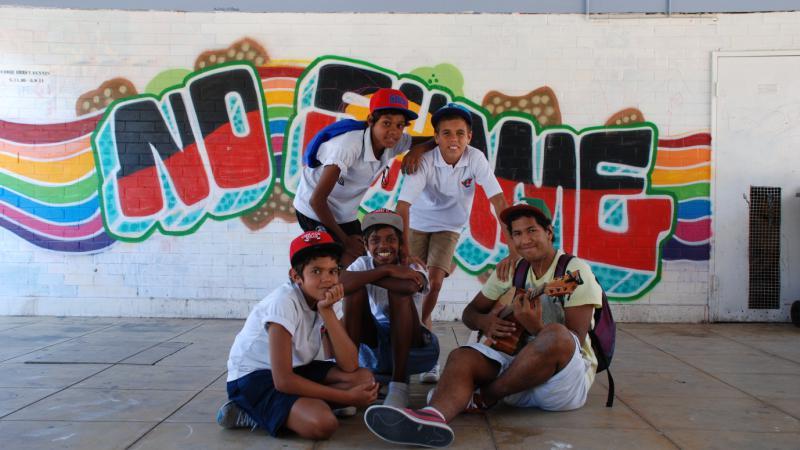Walgett students