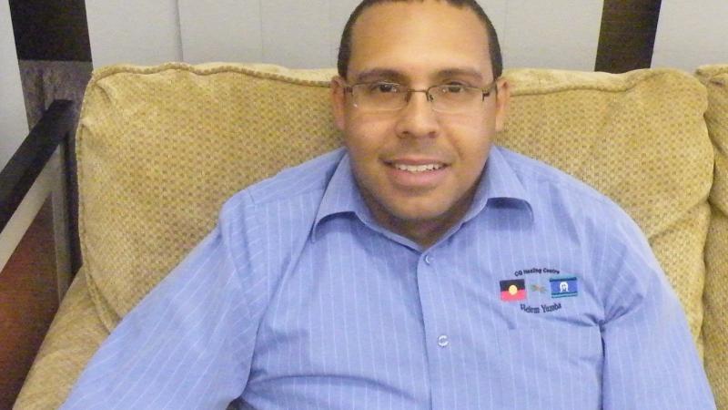 Male Behaviour Change program facilitator Edward Mosby, Central Queensland Healing Centre.
