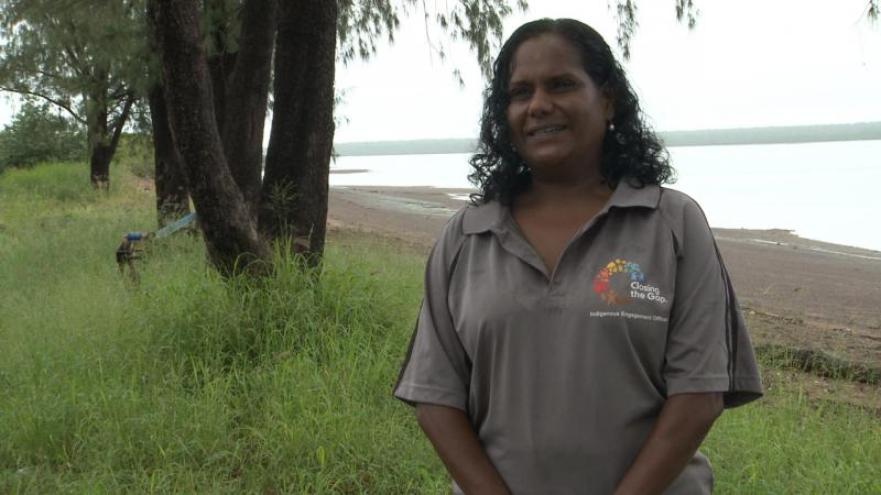Tiwi Islands Indigenous Engagement Officer Mavis Kerinaiua.