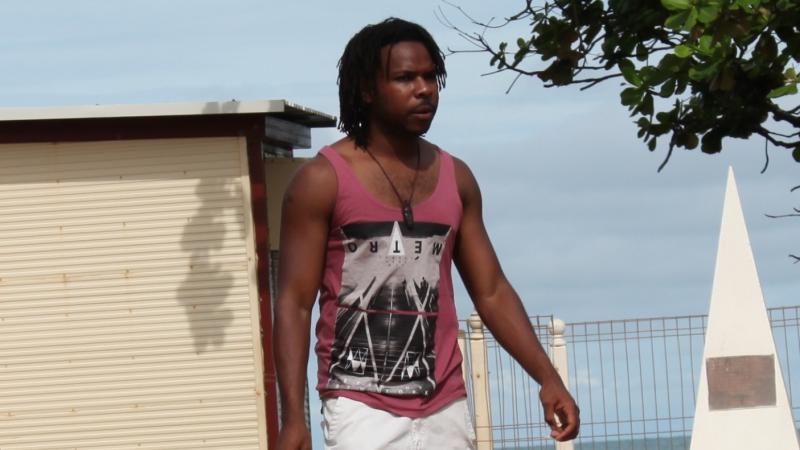Saibai Island student Adeah Kabi.