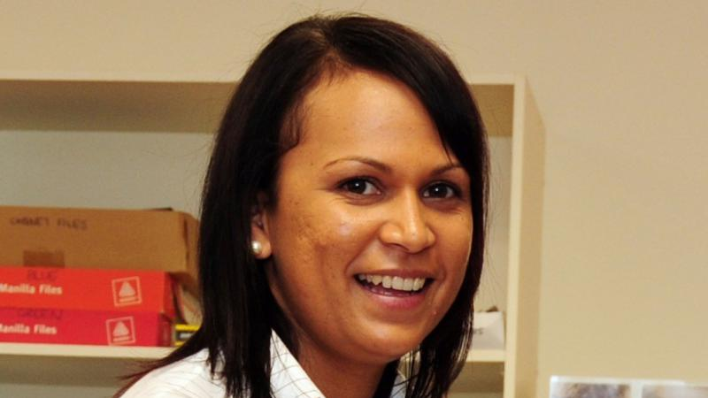 Carly Cooke – Regional Tobacco and Healthy Lifestyle Coordinator at the Nhulundu Health Service in Gladestone.