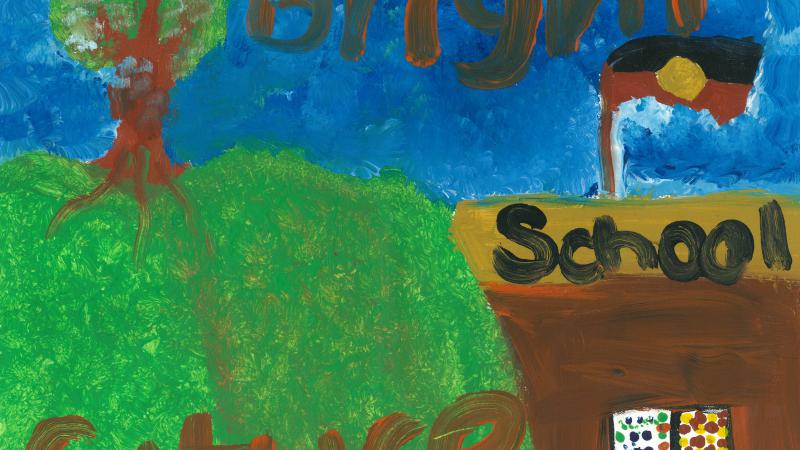 The Stronger Futures Alice 3on3 poster competition winning design.